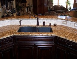 Granite Advantages Kitchen countertop bathroom countertops Allen McKinney Frisco Plano Richardson Texas